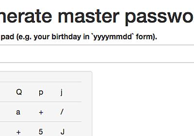 パスワードを忘れないようにブログに書いておく。 - ぬぬろぐ