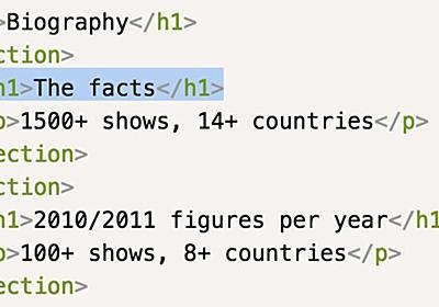 h1要素は複数回使って良いのか!? HTML5.1に関するW3CとWHATWGの主張の違い - Togetter