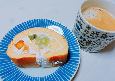 神戸【阪急御影】フランシア アオキ屋のフルーツロールケーキが1番好き!!手土産にオススメです。 - 広く浅くまるく