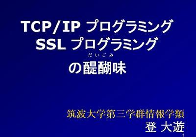 TCP/IP プログラミング・SSL プログラミングの醍醐味 - 登 大遊@筑波大学情報学類の SoftEther VPN 日記