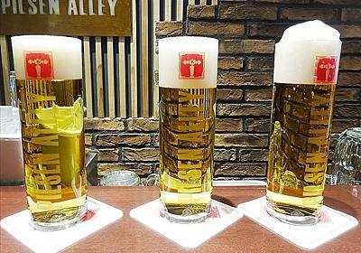 スーパードライの味が注ぎ方だけで劇的に変わる…!銀座でビールの味を自在に操る魔術師を発見した - ぐるなびWEBマガジン