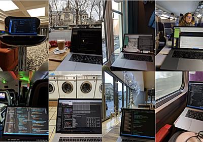 旅をしながら仕事をする、あるいはリモートワークができるチームの作り方の話 - tomoima525's blog