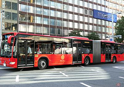 名古屋で導入予定ナシの連節バスが走ったワケ もっとスゴイ車両を走らせる「SRT構想」とは? | 乗りものニュース