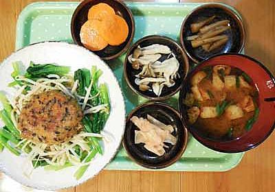 ヒジキ入り和風ポークハンバーグ - めのキッチンの美味しい生活