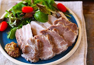 塊肉を漬けたら炊飯器にドン!豚肉で作る「コンポーク」がはちゃめちゃ美味くて何かと捗るぞ - ぐるなび みんなのごはん