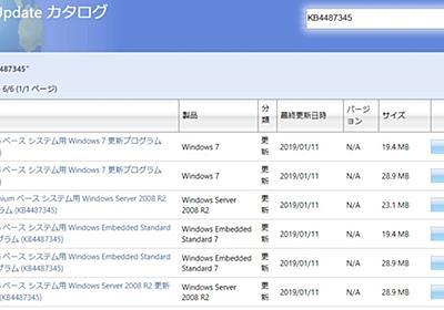 Windows7の更新プログラムをインストール後、ファイル共有ができなくなった | だぶるしーど