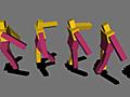 深層学習用ライブラリを自作して二足歩行を学習させてみた – EL-EMENT blog