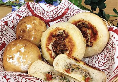 もち麦甘酒酵母のお焼きパン - パンとフクロウ*自家製天然酵母*