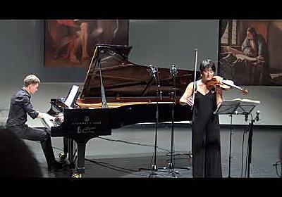 Ryoko Yano & Vyacheslav Gryaznov play Beethoven Kreutzer Sonata