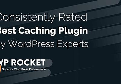 Caching Plugin for WordPress⎪WP Rocket