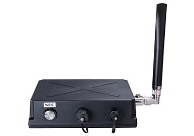 NEC、メッシュネットワークを構築できる無線LANアクセスポイント | 日経クロステック(xTECH)