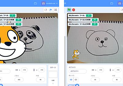 TensorFlowの機械学習による画像認識をScratch上で! 子どもでもできるAI活用プログラミング - どれ使う?プログラミング教育ツール - 窓の杜