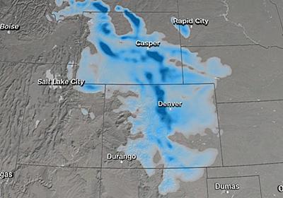CNN.co.jp : 熱波の2日後に寒波到来 猛暑一転、強風雪に 米コロラド州