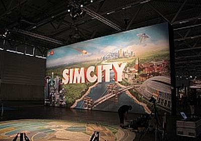 [Gamescom]一般向けでは初となる「SimCity」のプレイアブル展示。予想を超える面白さに,傑作の予感 - 4Gamer.net