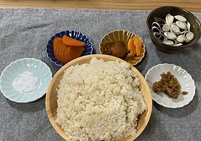 一食で玄米二合はやはりヤバい...諸事情で再現することになった「江戸時代の食事」、とにかく玄米の圧力がとんでもない - Togetter