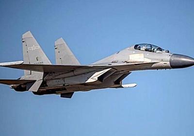 中国軍56機、台湾の防空識別圏に進入 最多を更新
