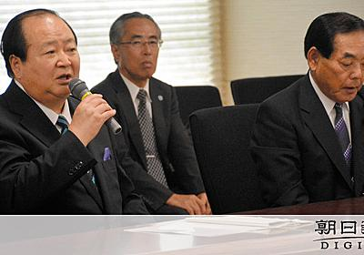 「不条理なことされた感じ」柳川市長が佐賀県知事に抗議:朝日新聞デジタル