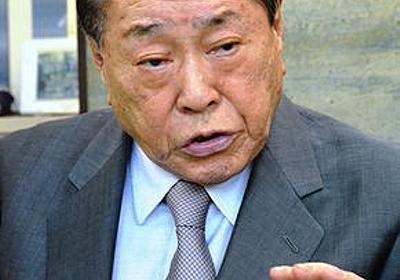 私が見た政治家・野中広務の神髄 - 御厨貴|WEBRONZA - 朝日新聞社の言論サイト