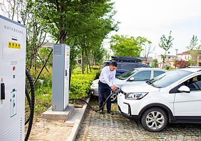 中国の高速道路で電気自動車が「エラい目」に ユーザー急増で「充電の渋滞」が発生