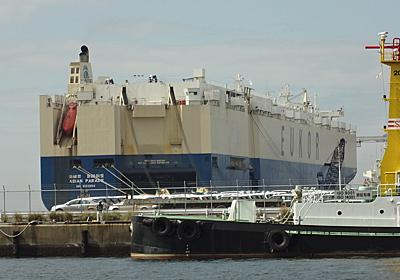 EUKORの自動車運搬船ASIAN PARADE - SHIPS OF THE PORT