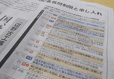 全文表示 | 東京新聞が「書かなかった」官邸とのやり取りとは 菅長官VS望月記者の舞台裏 : J-CASTニュース
