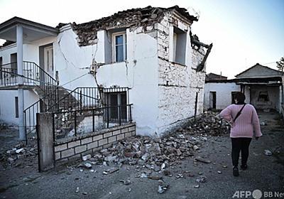 ギリシャ中部でM6.3の地震 建物が多数損壊 写真10枚 国際ニュース:AFPBB News