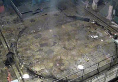 福島第1原発で見つかった「桁違い」の高濃度汚染 原子炉格納容器の上ぶた、デブリに匹敵の4京ベクレル   47NEWS