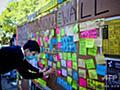 香港デモが豪大学に飛び火、民主派支持の学生に本土出身者が嫌がらせ 写真9枚 国際ニュース:AFPBB News