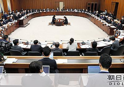 国民投票法、立憲の修正案を受け入れ 自民・公明が会談:朝日新聞デジタル