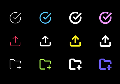 ICONSVG - Quick customizable SVG icons for your project