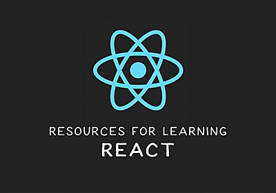 Resources for Learning React