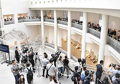 トリエンナーレ「表現の不自由展」60人の枠に1358人が行列、金属探知機も。厳重態勢で再開