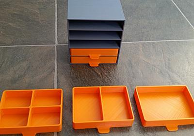 Parts Tray Drawers by FatalError3141 - Thingiverse