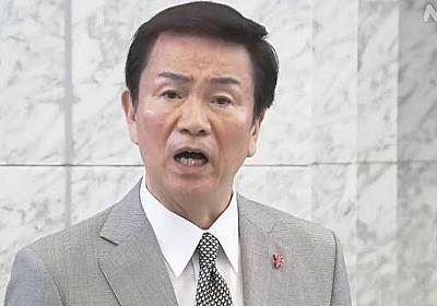 千葉県 森田知事 平日夜間の都内への外出自粛を呼びかけ   NHKニュース
