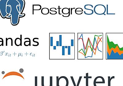 PostgreSQL Deep Dive: Jupyter+Pandasを使ったPostgreSQLパフォーマンス分析