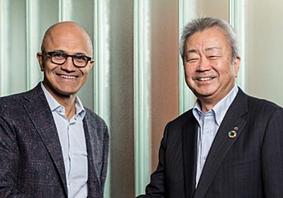 NTTと米MSがグローバルで提携、Azure軸に2社共同でサービス展開 | 日経 xTECH(クロステック)