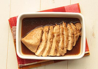 ムネ肉がしっとりやわらかくなる作り方!鶏ムネ肉のゆず胡椒ぽん酢のレシピ | つくりおき食堂
