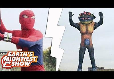 The amazing 1970s kaiju of Toei Spider-Man | Earth's Mightiest Show Bonus - YouTube