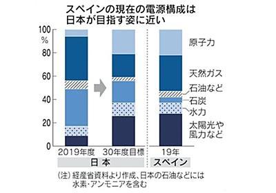 風吹かぬスペインの教訓 再生エネ拡大、日本にも難題
