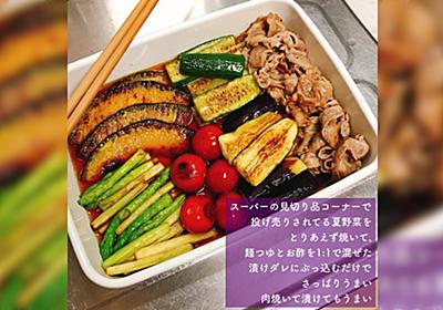 野菜が無駄にならないし簡単だし胃が弱りがちな夏にさっぱり食べられる神レシピ登場!「救世主」「最高過ぎて最高」 - Togetter