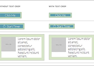 [CSS]文字に含まれる上下の余白を取り除いて、アイコンや画像とぴったり同じ高さにするスタイルシート | コリス