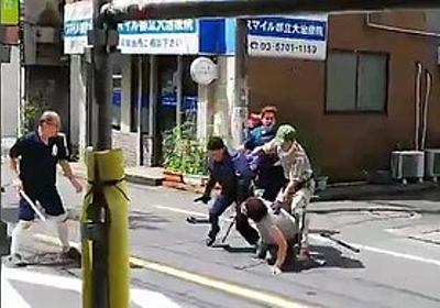 痛いニュース(ノ∀`) : 【動画】 刃物男逮捕の一部始終 クロネコヤマト配達員が強すぎると話題に - ライブドアブログ