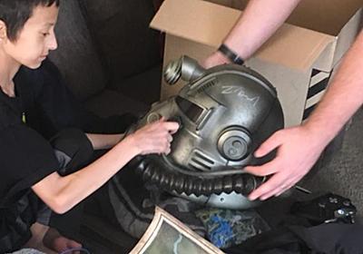 ガン闘病中の少年の声に応えたベセスダスタッフ、車で4時間かけて『Fallout 76』とサイン付きグッズを届ける | Game*Spark - 国内・海外ゲーム情報サイト