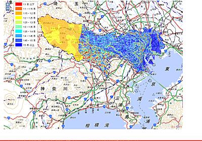 【地図ウォッチ】 「東京地中熱ポテンシャルマップ」公開、都内各所で地中熱がどれくらい採れるか目安を表示 - INTERNET Watch