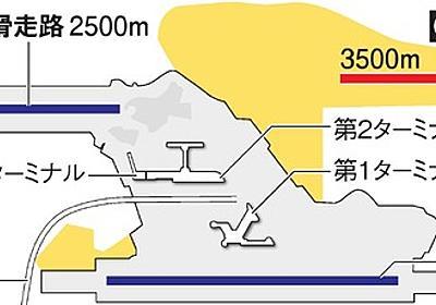 成田空港に3本目の滑走路建設へ 運用時間も拡大で決着:朝日新聞デジタル