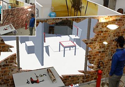 ドローンとホロレンズを利用した「遠隔操作システム」登場…壁の向こうも透視可能 | ROBOTEER
