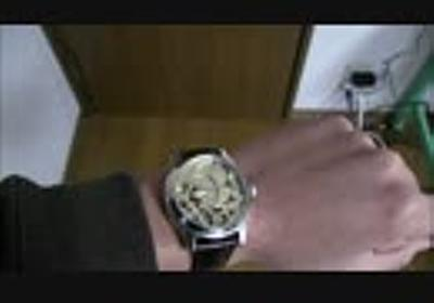 機械式腕時計を作ってみた