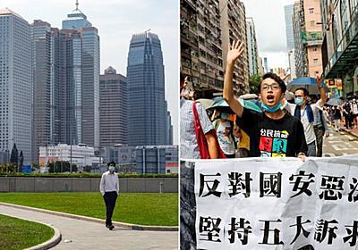 香港ファンド、日本へ退避可能に 金融庁最短3日承認 (写真=ロイター) :日本経済新聞
