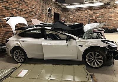事故で廃棄されたTesla車が、元所有者のデータをたくさん記録してたって   ギズモード・ジャパン