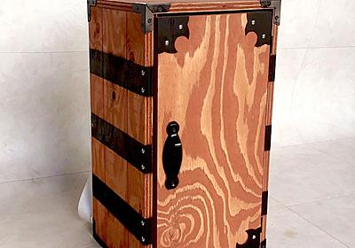 『鬼滅の刃』炭治郎の箱を大工さんがガチで製作 子どもが背負えて単行本全巻収納可能と機能性まで完璧 - ねとらぼ